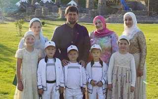 Все о тайной жене рамзана кадырова, которой 18 лет и точное количество детей главы чеченской республики